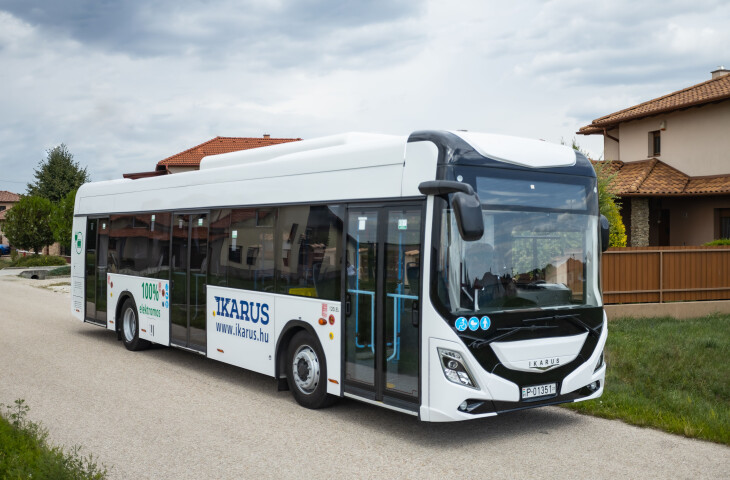 IKARUS 120e electric city bus